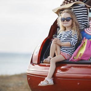 Summer Driving Advice girl in boot